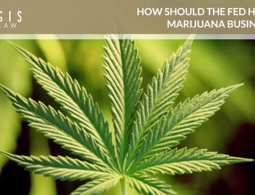 How Should the Fed Handle Marijuana Businesses?