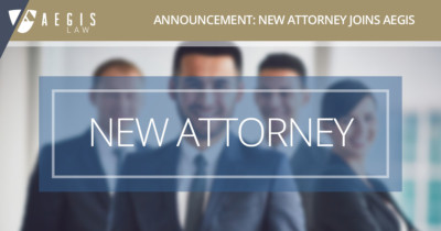 John Ervin Joins AEGIS Law's Mergers & Acquisitions Practice Group